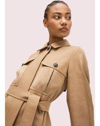 Kate Spade Icon Trenchcoat - Natural
