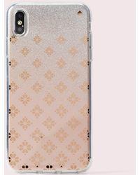 Kate Spade Spade Flower Ombré Iphone Xs Max Case - Multicolour