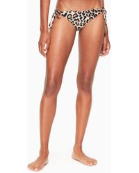 Kate Spade | Crystal Cove String Bikini Bottom | Lyst