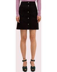Kate Spade Spade Pocket Skirt - Black