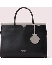 Kate Spade Mittelgroße Spencer Satchel - Black