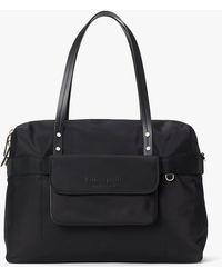 Kate Spade Journey Nylon Duffle Bag - Black