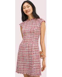 Kate Spade Textured Tweed Dress - Multicolour
