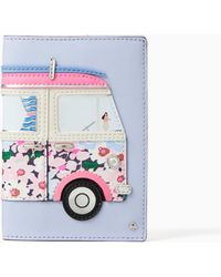 Kate Spade - California Dreaming Surf Van Passport Holder - Lyst