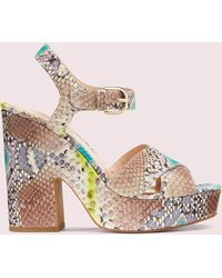 Kate Spade Grace Platform Sandals - Multicolor