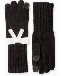 Kate Spade Grosgrain Bow Bow Glove - Black
