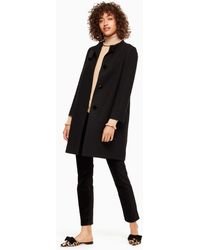Kate Spade | Bow Tweed Coat | Lyst