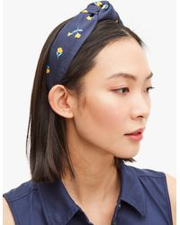 Kate Spade Gardern Ditsy Headband - Blue
