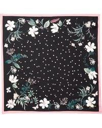 Kate Spade - Botanical Patchwork Bandana - Lyst