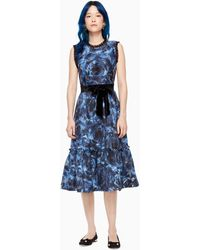 Kate Spade Airy Rose Liya Dress - Blue