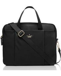 Kate Spade Classic Nylon Laptop Bag - Black