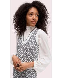 Kate Spade Spade Flower Knit Vest - Black