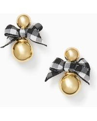 Kate Spade - Pretty Pearly Studs - Lyst