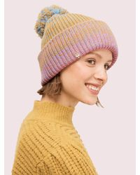 Kate Spade Ombré Pom Pom Beanie - Multicolour