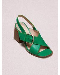 Kate Spade Raleigh Sandals - Green