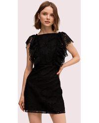 Kate Spade - Spade Lace Mini Dress - Lyst