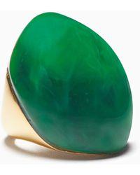 Kate Spade Mood Ring Resin Ring - Green