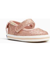 Kate Spade - Keds X New York Sloan Mary Jane Crib Sneakers - Lyst