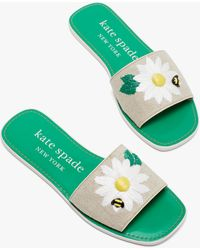 Kate Spade Seraphina Slide Sandals - Natural