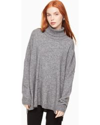 Kate Spade - Wool Turtleneck Sweater - Lyst