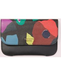 Kate Spade - Make It Mine Floral Collage Pouch - Lyst