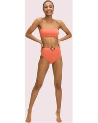 Kate Spade Bandeau Bikini Top - Multicolor