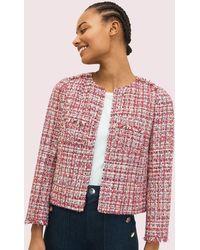 Kate Spade Textured Tweed Jacket