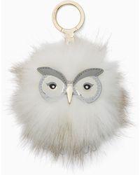 Kate Spade - Snowy Owl Pouf - Lyst