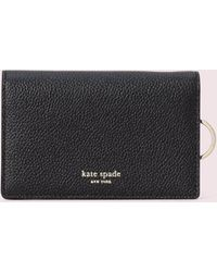 Kate Spade Margaux Small Keyring Wallet - Black