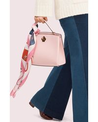 Kate Spade Nicola Bag Toss Scarf - Pink