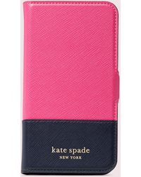 Kate Spade Spencer Iphone 11 Pro Magnetic Wrap Folio Case - Pink