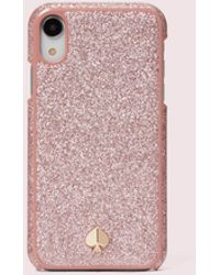 Kate Spade Glitter Inlay Iphone X & Xs Case - Pink