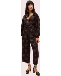 Kate Spade Disco Dots Jumpsuit - Black