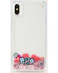 Kate Spade Spade Flower Liquid Glitter Iphone Xs Max Case - Multicolour