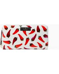 Kate Spade Daycation Hot Peppers Neda - Red