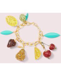 Kate Spade Tutti Fruity Charm-armband - Multicolour