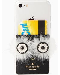 Kate Spade - Penguin Sticker Pocket - Lyst