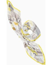Kate Spade - Taxi Square Scarf - Lyst