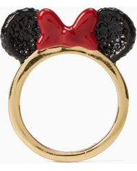 Kate Spade - New York For Minnie Mouse Ring - Lyst
