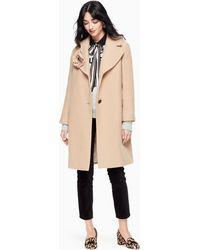 Kate Spade | Wool Boucle Poppy Coat | Lyst