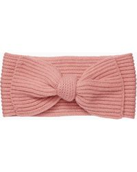 Kate Spade - Solid Bow Headband - Lyst
