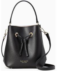 Kate Spade Eva Small Bucket Bag - Black