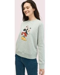 Kate Spade New York X Minnie Mouse Sweatshirt - Gray