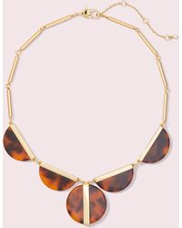 Kate Spade On The Dot Statement Necklace - Multicolour