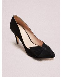 Kate Spade Alessia Court Shoes - Black
