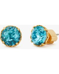 Kate Spade That Sparkle Round Earrings - Multicolour