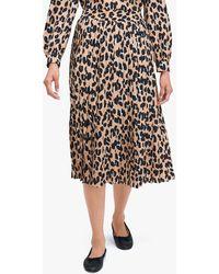 Kate Spade Forest Feline Midi Skirt - Black