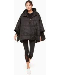 Kate Spade - Quilted Poncho - Lyst
