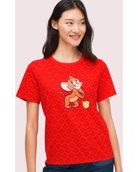 Kate Spade X Tom Und Jerry T-shirt - Red