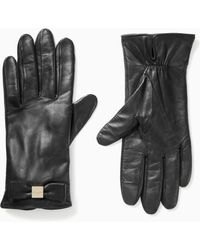 Kate Spade - Bow Touchscreen Gloves - Lyst